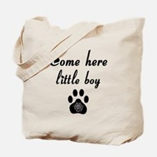 Cougar: Come Here Little Boy Tote Bag