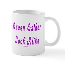 Queen Esther Look Alike Purim Mug