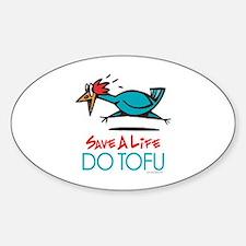 Veggie Tofu Sticker (Oval)