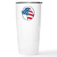 Lab Flag (Star Face) Travel Mug