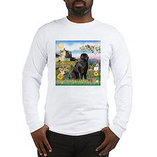 Castle (E) & Newfie Long Sleeve T-Shirt
