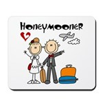Stick Figure Honeymooner Mousepad