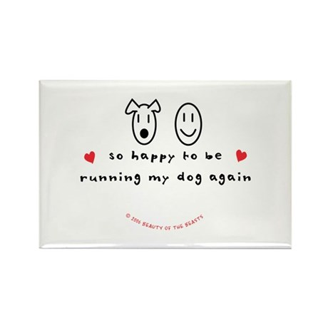 So Happy Rectangle Magnet (100 pack)