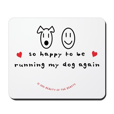 So Happy Mousepad