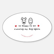 So Happy Oval Decal