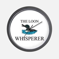 The Loon Whisperer Wall Clock
