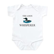 The Loon Whisperer Infant Bodysuit