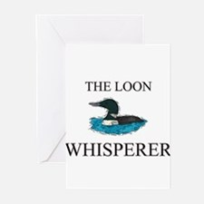 The Loon Whisperer Greeting Cards (Pk of 10)