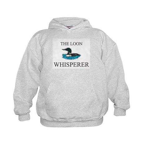 The Loon Whisperer Kids Hoodie