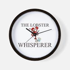 The Lobster Whisperer Wall Clock