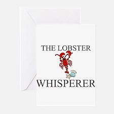 The Lobster Whisperer Greeting Cards (Pk of 10)