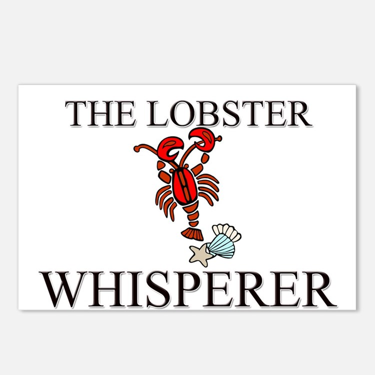 The Lobster Whisperer Postcards (Package of 8)