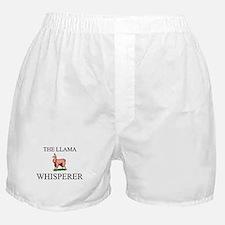 The Llama Whisperer Boxer Shorts