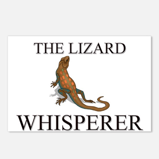 The Lizard Whisperer Postcards (Package of 8)
