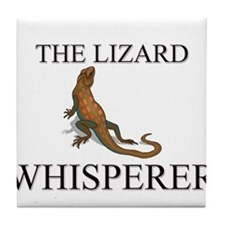 The Lizard Whisperer Tile Coaster