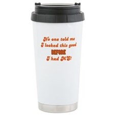 Looking Good! Stainless Steel Travel Mug