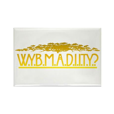 W.Y.B.M.A.D.I.I.T.Y. Rectangle Magnet (10 pack)