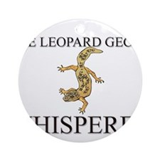 The Leopard Gecko Whisperer Ornament (Round)