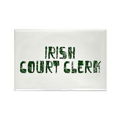 Irish Court Clerk Rectangle Magnet (10 pack)