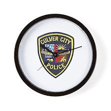 Culver City Police Wall Clock