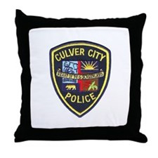 Culver City Police Throw Pillow