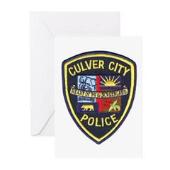 Culver City Police Greeting Cards (Pk of 20)