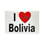 I Love Bolivia Rectangle Magnet (10 pack)