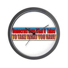 Democrats Have What It Takes Wall Clock