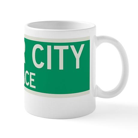 Tudor City Place in NY Mug