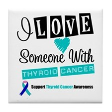 ThyroidCancerSupport Tile Coaster