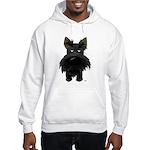 Big Nose/Butt Scottie Hooded Sweatshirt