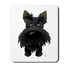Big Nose Scottie Mousepad