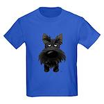 Big Nose Scottie Kids Dark T-Shirt