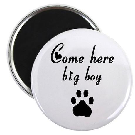 Cougar: Come Here Big Boy Magnet