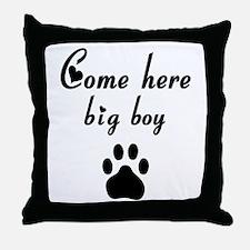 Cougar: Come Here Big Boy Throw Pillow