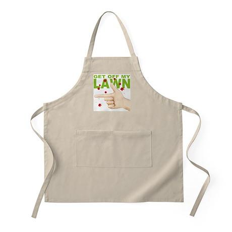 Get Off My Lawn! BBQ Apron