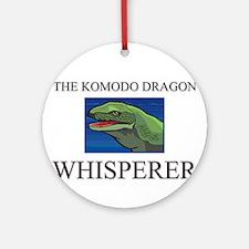 The Komodo Dragon Whisperer Ornament (Round)