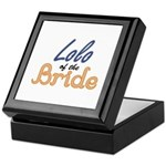 Lolo of the Bride Keepsake Box