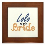 Lolo of the Bride Framed Tile
