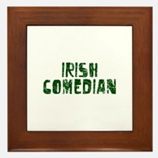 Irish Comedian Framed Tile