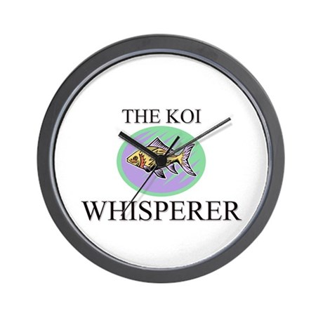 The Koi Whisperer Wall Clock