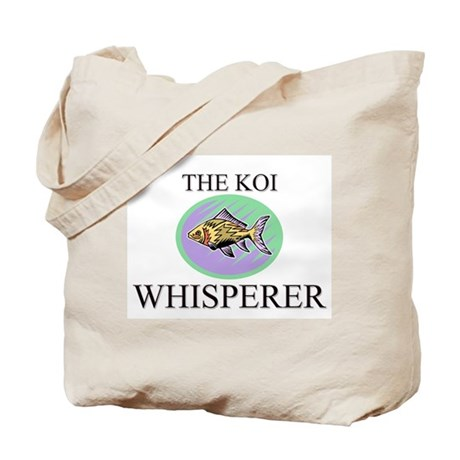 The Koi Whisperer Tote Bag