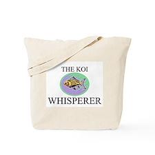 The Koi Whisperer Tote Bag