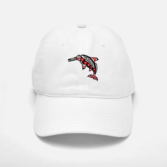 Kwak'wala Ichthyosaur Baseball Baseball Cap
