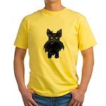 Big Nose/Butt Scottie Yellow T-Shirt