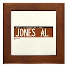 Jones Alley in NY Framed Tile