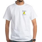 OR Chick CRNA White T-Shirt