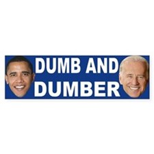 Anti barack Obama Bumper Bumper Sticker