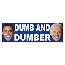 Anti barack Obama Bumper Car Sticker