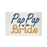 PapPap of the Bride Rectangle Magnet (10 pack)
